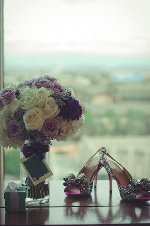 shoes-bouquet